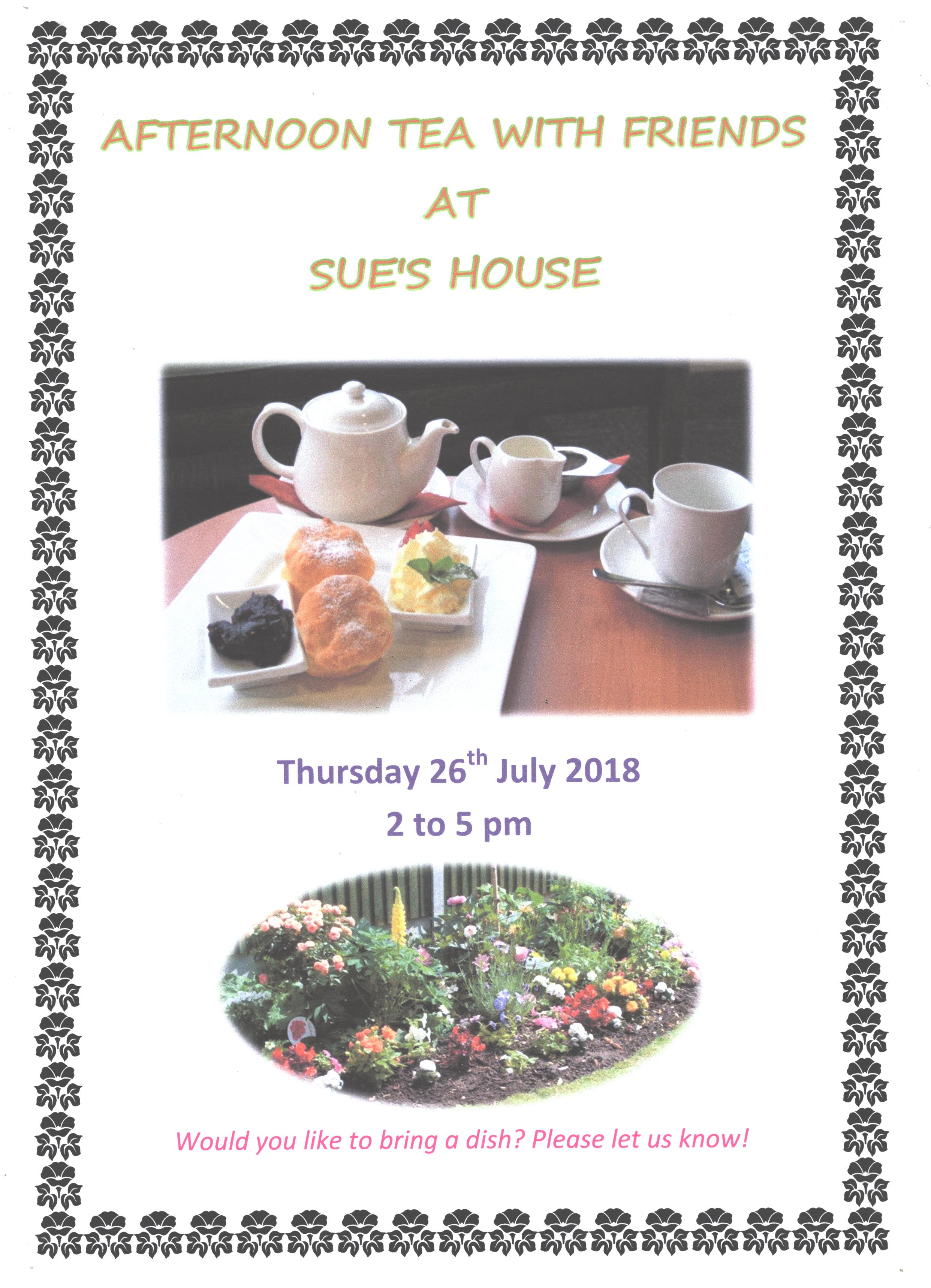 Afternoon Tea Poster 2018