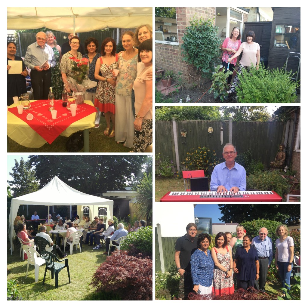 Sues house tea party2019 COLLAGE